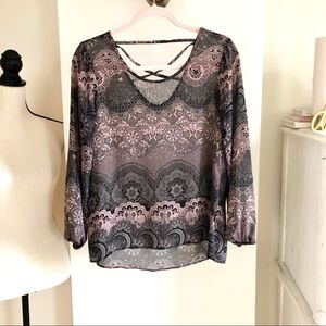 Charming Charlie Loose Top. Size S